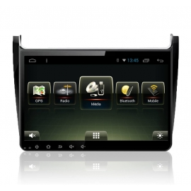 Autoradio GPS Android 8.0 Volkswagen Nouvelle Polo 2014