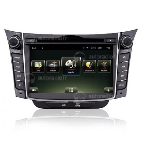 Autoradio GPS Android 8.0 Hyundai i30 2013