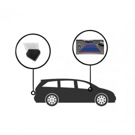 Caméra de recul CCD Volkswagen Bora 2013