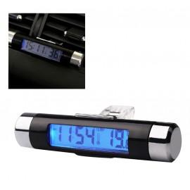 Thermomètre et horloge