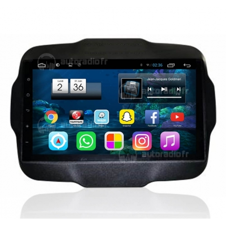 Autoradio Android 6.0 Jeep Renegade