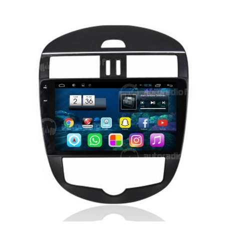 Autoradio Android 6.0 Nissan Tiida 2011