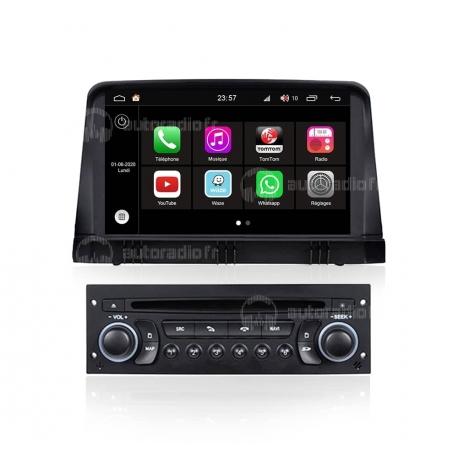 Autoradio GPS Android 8.0 Citroen C3