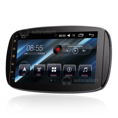 Autoradio GPS Android 8.0 Mercedes Smart (2015-2016)
