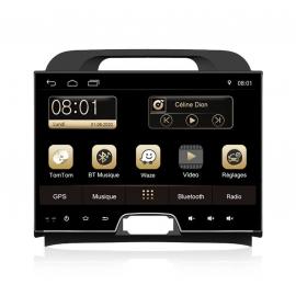 Autoradio GPS Android 8.0 Kia Sportage (2010-2012)