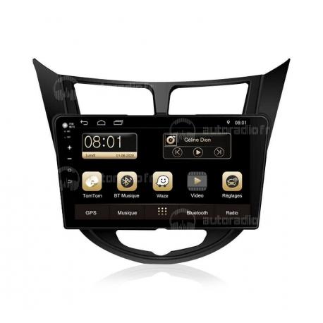 Autoradio GPS Android 8.0 Hyundai Accent (2011-2012)