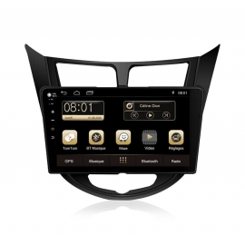 Autoradio GPS Android 7.1 Hyundai Solaris (2011-2012)