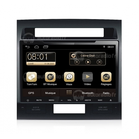 Autoradio GPS Android 8.0 Toyota Land Cruiser (2012-2015)