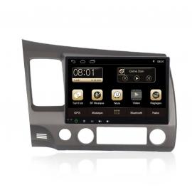 Autoradio GPS Android 7.1 Honda Civic 2008