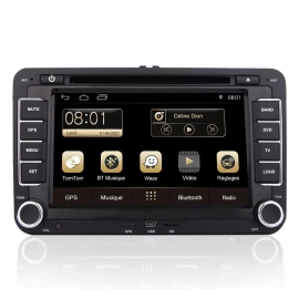 Autoradio GPS Android 8.0 Skoda Superb (2005-2009)