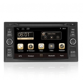 Autoradio GPS Android 7.1 Kia Carens (2006-2011)