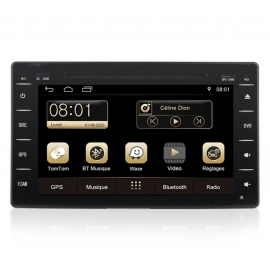 Autoradio GPS Android 7.1 Hyundai Matrix (2004-2010)