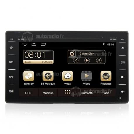 Autoradio GPS Android 8.0 Hyundai Matrix (2004-2010)