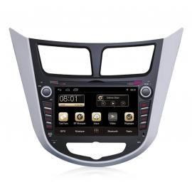 Autoradio GPS Android 8.0 Hyundai Verna