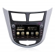 Autoradio GPS Android 8.0 Hyundai Accent