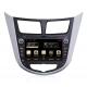 Autoradio GPS Android 8.0 Hyundai Solaris (2011-2012)