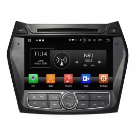Autoradio GPS Android 8.0 Hyundai Santa Fe (2013-2014)