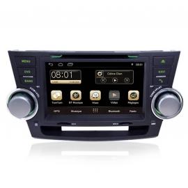Autoradio GPS Android 8.0 Toyota Highlander (2008-2012)