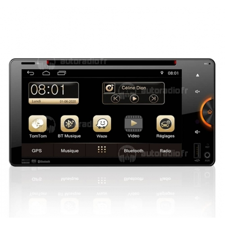 Autoradio GPS Android 8.0 Toyota Fortuner