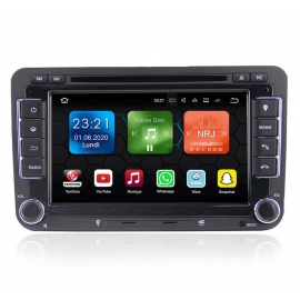 Autoradio GPS Android 8.0 VW Touran (2003-2011)