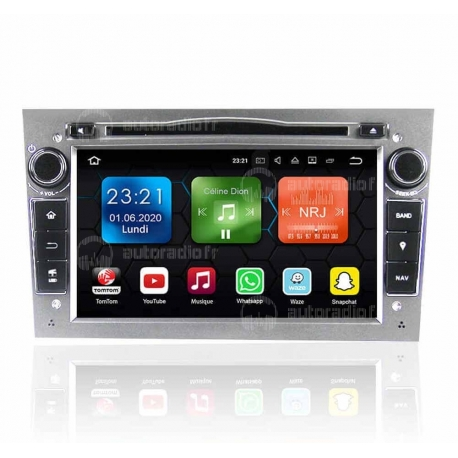 Autoradio GPS Android 8.0 Opel Astra H (2004-2017)