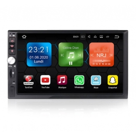 Autoradio GPS Android 8.0 Universel 2 din sans DVD