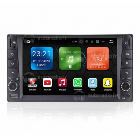 Autoradio GPS Android 8.0 Toyota Land Cruiser 100 series (1998-2007)
