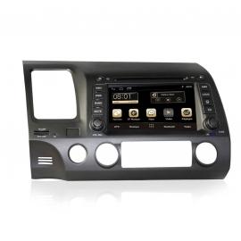 Autoradio GPS Android 7.1 Honda Civic (2006-2011)