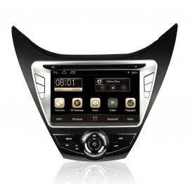 Autoradio GPS Android 7.1 Hyundai Elantra 2014