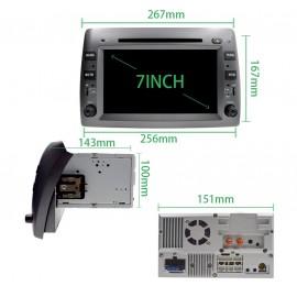 Autoradio GPS Fiat Stilo (2002-2010)