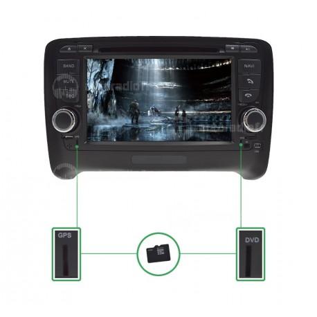 Autoradio GPS Audi TT Android 8.0 (2006-2013)