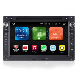 Autoradio GPS Android 8.0 Skoda Superb (2000-2008)