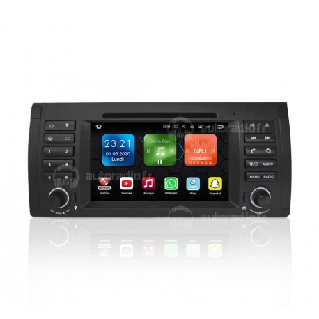 Autoradio GPS Android 8.0 BMW E39 (1996-2003)