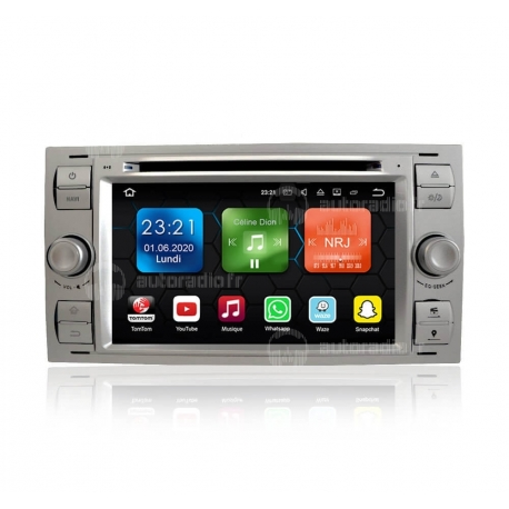 Autoradio GPS Android 8.0 Ford Kuga (2008-2011)