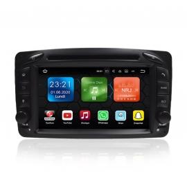 Autoradio GPS Android 8.0 Mercedes Classe C W203 (2000-2005)