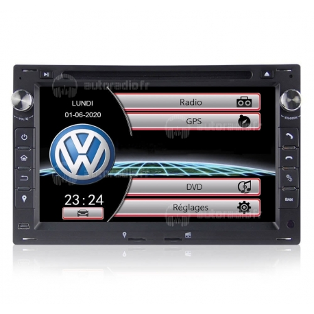 Autoradio GPS VW Golf 4