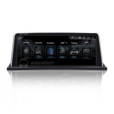 Autoradio GPS Android 8.1 BMW X6 E71 (2011-2013)