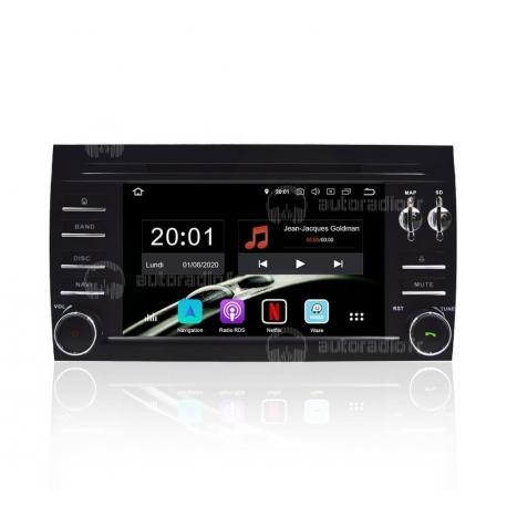 Autoradio GPS Android 8.0 Porsche Cayenne (2004-2012)