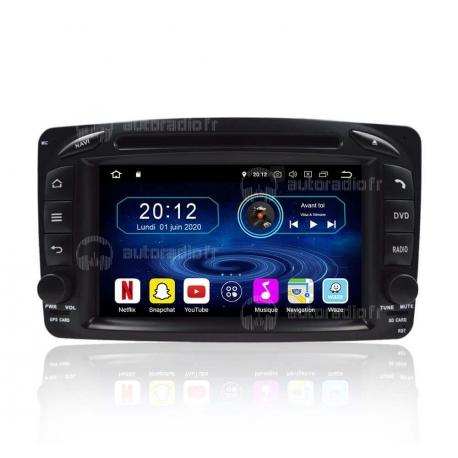 Autoradio GPS Android 8.0 Mercedes CLK W209 (1998-2004)
