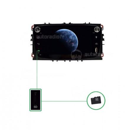 Autoradio GPS Android 8.0 Ford Focus (2007-2010)