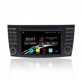 Autoradio GPS Android 8.0 Mercedes E-Classe W211 (2002-2009)