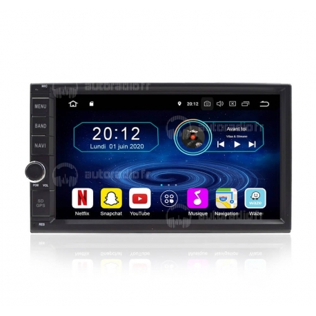 Autoradio GPS Android 8.0 Nissan Navara (2001-2011)