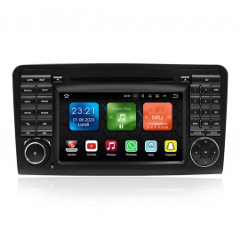 Autoradio GPS Android 9.0 Mercedes ML-Classe W164 (2005-2012)