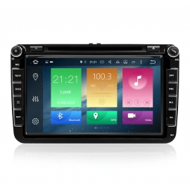 Autoradio GPS Android 9.0 VW Scirocco (2008-2013)