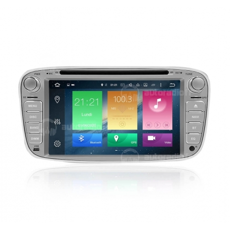 Autoradio GPS Android 9.0 Ford Focus (2007-2010)