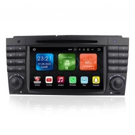 Autoradio GPS Android 8.0 Mercedes CLC Classe W203 (2008-2010)
