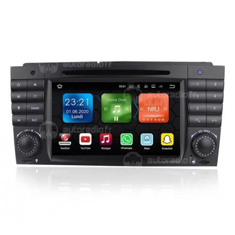 Autoradio GPS Android 9.0 Mercedes CLC Classe W203 (2008-2010)