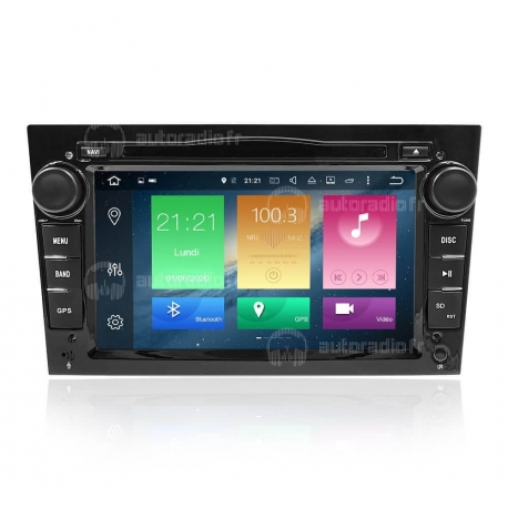 Autoradio GPS Android 9.0 Opel Astra H (2004-2017)