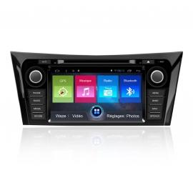Autoradio GPS Android Nissan qashqai