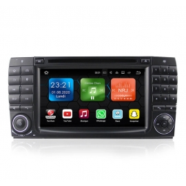 Autoradio GPS Android 8.0 Mercedes S-Classe W220 (1998-2005)